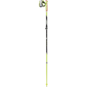 LEKI Micro Trail Vario Trail Running Poles foldable, green/black/anthracite/white